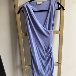 Aritzia - Wilfred Free blue wrap dress : Size M